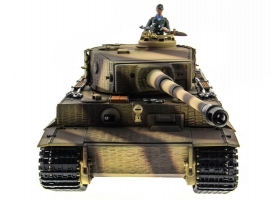 P/У танк Taigen 1/16 Tiger 1 (Германия, поздняя версия) 2.4G RTR летний камуфляж 1