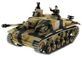 Р/У танк Taigen 1/16 SturmgeschutzIIIausf.gsd.kfz. (Германия) HC версия 2.4G RTR