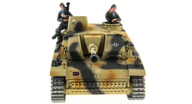 Р/У танк Taigen 1/16 SturmgeschutzIIIausf.gsd.kfz. (Германия) HC версия 2.4G RTR 2