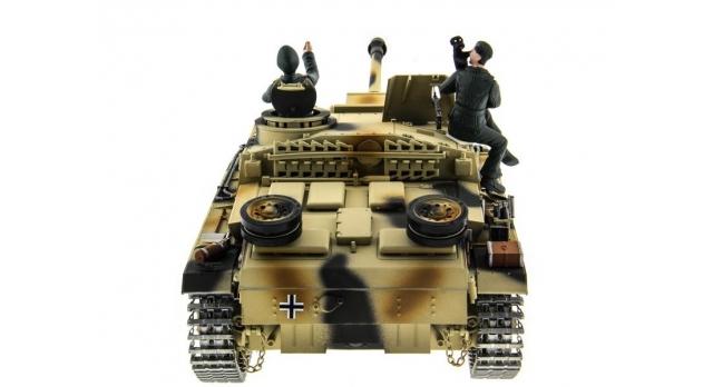 Р/У танк Taigen 1/16 SturmgeschutzIIIausf.gsd.kfz. (Германия) HC версия 2.4G RTR 5