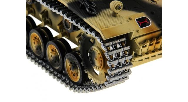 Р/У танк Taigen 1/16 SturmgeschutzIIIausf.gsd.kfz. (Германия) HC версия 2.4G RTR 7