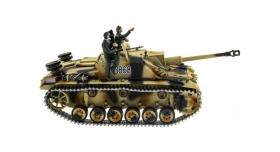 Р/У танк Taigen 1/16 SturmgeschutzIIIausf.gsd.kfz. (Германия) HC версия 2.4G RTR 8