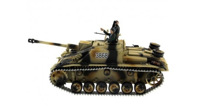Р/У танк Taigen 1/16 SturmgeschutzIIIausf.gsd.kfz. (Германия) HC версия 2.4G RTR 9