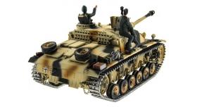 Р/У танк Taigen 1/16 SturmgeschutzIIIausf.gsd.kfz. (Германия) HC версия 2.4G RTR 12