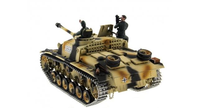 Р/У танк Taigen 1/16 SturmgeschutzIIIausf.gsd.kfz. (Германия) HC версия 2.4G RTR 13