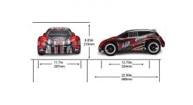 Радиоуправляемая шоссейка Remo Hobby Rally Master Brushless 4WD 2.4G 1/8 RTR 3