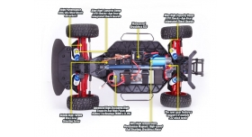 Радиоуправляемая шоссейка Remo Hobby Rally Master Brushless 4WD 2.4G 1/8 RTR 5