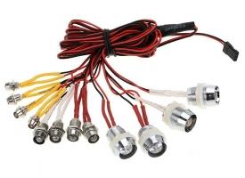 Комплект подсветки G.T.Power L12 (12 светодиодов) для радиоуправляемых автомоделей