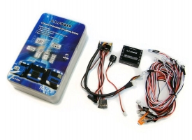 Система освещения 4-канальная светодиодная G.T.Power с блоком управления