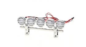 Передние светодиодные прожекторы на кузов для краулеров 1/10, серебристый 2