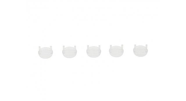 Передние светодиодные прожекторы на кузов для краулеров 1/10, серебристый 10