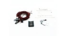 Имитатор полета и система проблескового света G.T.Power 4