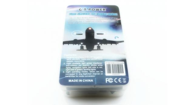 Имитатор полета и система проблескового света G.T.Power 6