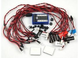 Комплект освещения G.T.Power (12 светодиодов) с блоком управления