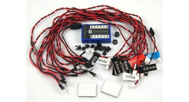 Комплект освещения G.T.Power (12 светодиодов) с блоком управления 1