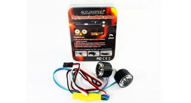 Комплект головного света G.T.Power для радиоуправляемых моделей 1