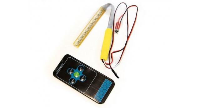 Многорежимная подсветка G.T.Power (светодиодная полоса, 14 режимов) с ИК пультом 1