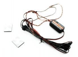 Подсветка шасси автомобиля G.T.Power, 4 светодиодные ленты