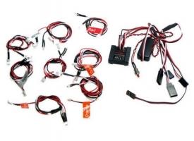 Комплект освещения G.T.Power (8 светодиодов, 6 режимов) с блоком управления