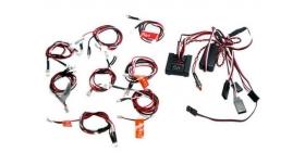 Комплект освещения G.T.Power (8 светодиодов, 6 режимов) с блоком управления 1