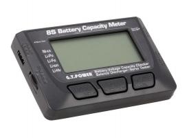 Измеритель емкости Li-Po аккумуляторов 8S G.T.Power