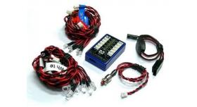 Комплект освещения G.T.Power (12 светодиодов, 4 режима) с блоком управления 1
