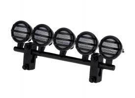 Передние светодиодные прожекторы на кузов для краулеров 1/10, черный