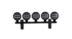 Передние светодиодные прожекторы на кузов для краулеров 1/10, черный 2