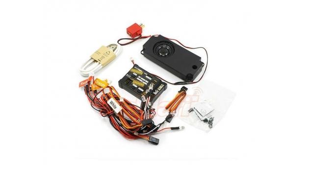 Комплект освещения G.T.Power (6 светодиодов) с блоком управления и звуковой системой 1
