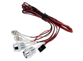 Комплект подсветки G.T.Power L4 (4 светодиода) для радиоуправляемых автомоделей