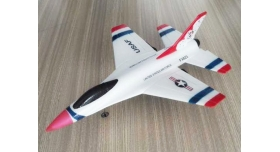 Р/У самолет CTF F16 Thunderbirds FX-823 290мм 2.4G EPP Gyro RTF (с гироскопом) 1
