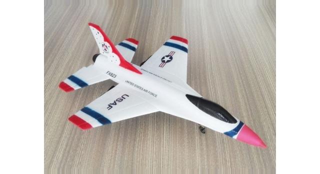 Р/У самолет CTF F16 Thunderbirds FX-823 290мм 2.4G EPP Gyro RTF (с гироскопом) 2