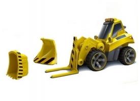 Р/У строительный трактор CTF с набором навесного оборудования 4CH