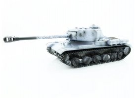 Р/У танк Taigen 1/16 ИС-2 модель 1944, СССР, зимний, (для ИК танк. боя) 2.4G, деревянная коробка