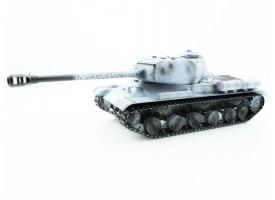 Р/У танк Taigen 1/16 ИС-2 модель 1944, СССР, зимний, (для ИК танкового боя) 2.4G, деревянная коробка
