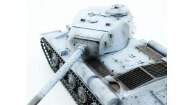 Р/У танк Taigen 1/16 ИС-2 модель 1944, СССР, зимний, (для ИК танкового боя) 2.4G, деревянная коробка 4