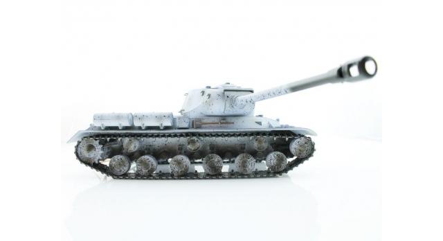 Р/У танк Taigen 1/16 ИС-2 модель 1944, СССР, зимний, (для ИК танкового боя) 2.4G, деревянная коробка 7
