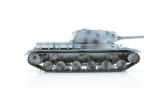 Р/У танк Taigen 1/16 ИС-2 модель 1944, СССР, зимний, (для ИК танкового боя) 2.4G, деревянная коробка 8