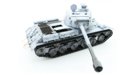 Р/У танк Taigen 1/16 ИС-2 модель 1944, СССР, зимний, (для ИК танкового боя) 2.4G, деревянная коробка 9