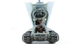 Р/У танк Taigen 1/16 ИС-2 модель 1944, СССР, зимний, (для ИК танкового боя) 2.4G, деревянная коробка 11