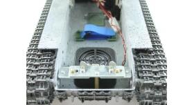 Р/У танк Taigen 1/16 ИС-2 модель 1944, СССР, зимний, (для ИК танкового боя) 2.4G, деревянная коробка 13