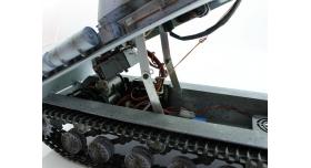 Р/У танк Taigen 1/16 ИС-2 модель 1944, СССР, зимний, (для ИК танкового боя) 2.4G, деревянная коробка 15