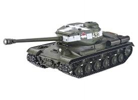 Р/У танк Taigen 1/16 ИС-2 модель 1944, СССР, зеленый, (для ИК танк. боя) 2.4G, деревян. коробка