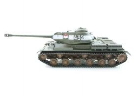 Р/У танк Taigen 1/16 ИС-2 модель 1944, СССР, зеленый, (для ИК танк. боя) 2.4G, деревян. коробка 1