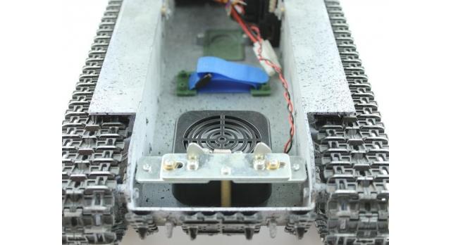 Р/У танк Taigen 1/16 ИС-2 модель 1944, СССР, зимний, 2.4G, деревянная коробка 13
