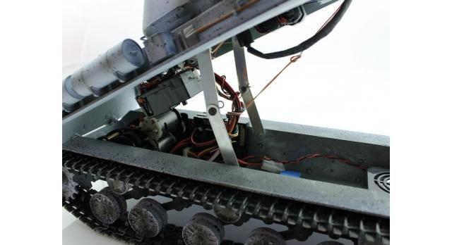 Р/У танк Taigen 1/16 ИС-2 модель 1944, СССР, зимний, 2.4G, деревянная коробка 15