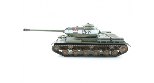 Р/У танк Taigen 1/16 ИС-2 модель 1944, СССР, зеленый, 2.4G, деревянная коробка 2