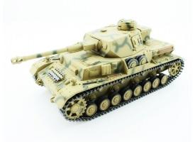Р/У танк Taigen 1/16 Panzerkampfwagen IV Ausf.F2.Sd.Kfz (Германия) 2.4G, RTR, летний камуфляж