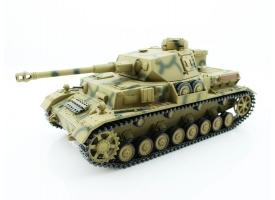 Р/У танк Taigen 1/16 Panzerkampfwagen IV Ausf.F2.Sd.Kfz (Германия) 2.4G, RTR, летний камуфляж 1