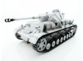 Р/У танк Taigen 1/16 Panzerkampfwagen IV Ausf.F2.Sd.Kfz (Германия) 2.4G RTR, зимний камуфляж